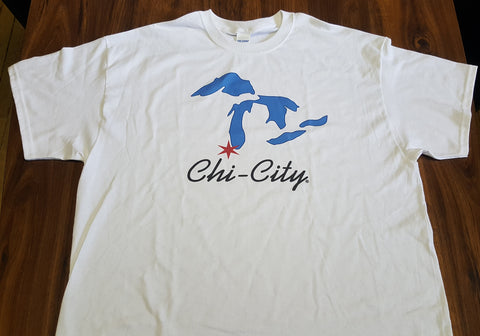 Chi-City Apparel Great Lakes Men's T-Shirt