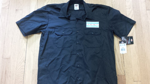 Chi-City Black Dickie's Mechanic's Shirt
