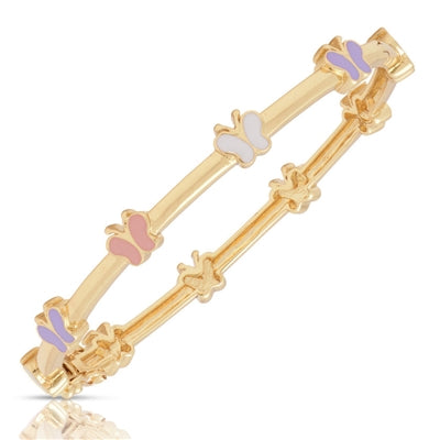 177B-M-2T, Butterfly Station Bangle