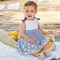 Print dress for baby girl 1844