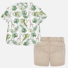 2 Piece Boy Short and Shirt Summer Set