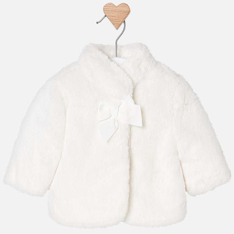 2438 Faux fur coat