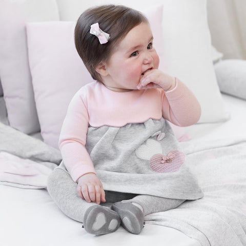 2804 Newborn Baby Girl Dress