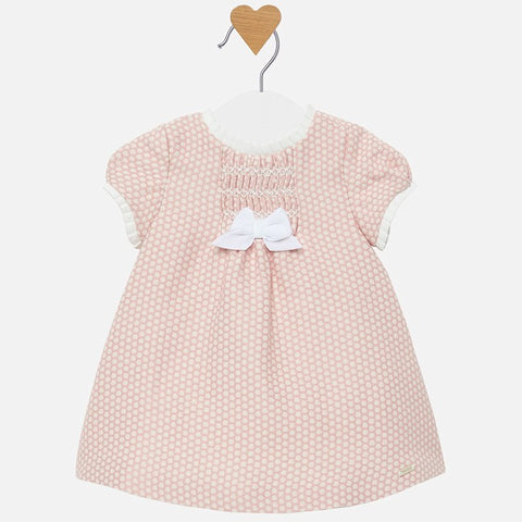 2822 Newborn baby girl dress