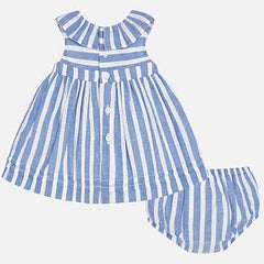 Stripe Patterned Dress 1835