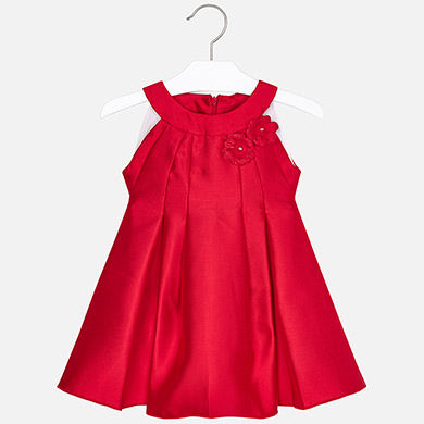 Red Taffeta Dress 3928
