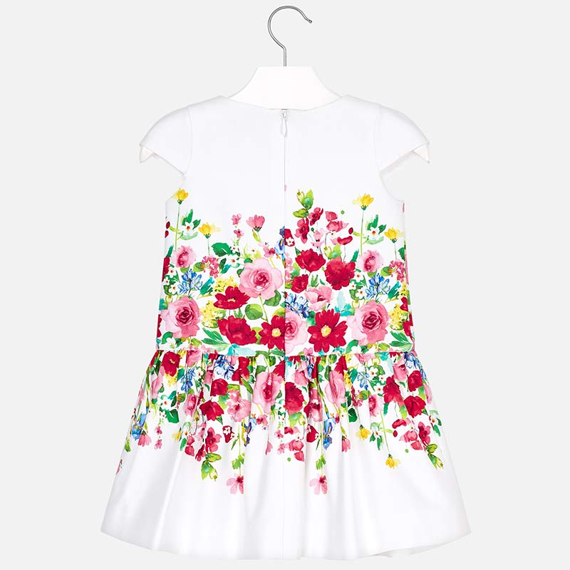3933, Printed flowers dress