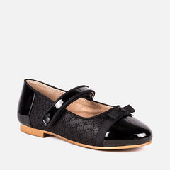46813 Patent leather effect Mary Jane shoes