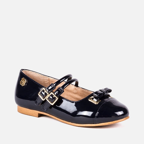 46815 Patent leather effect Mary Jane shoes
