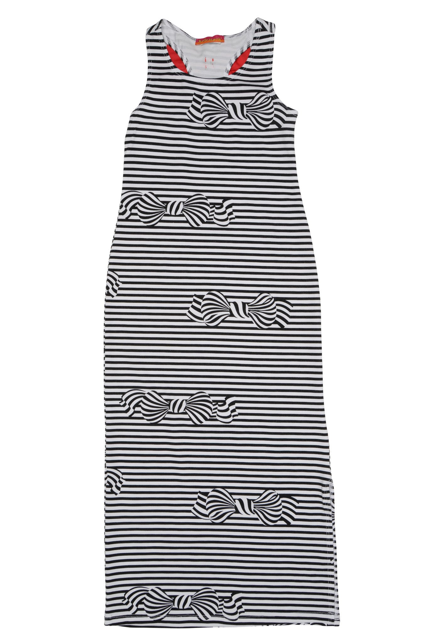 BOWS AHOY MAXI DRESS