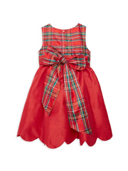 6507-RD-D Red Aviana w/Plaid