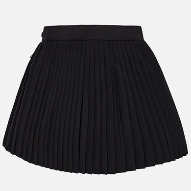 Girl pleated poplin skirt 6916