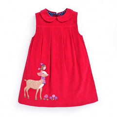 Holiday Red Dress D7765