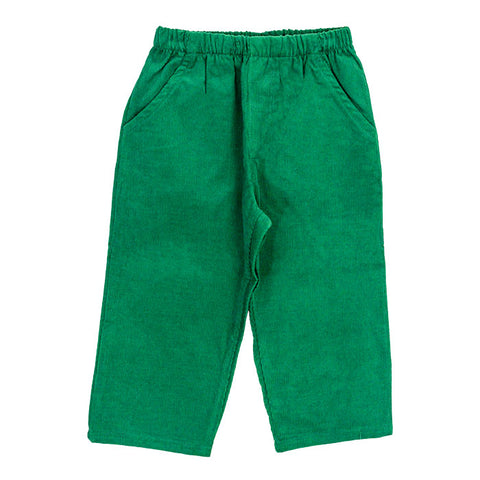 321-PTE-C, Elastic pants Kelley green plaid