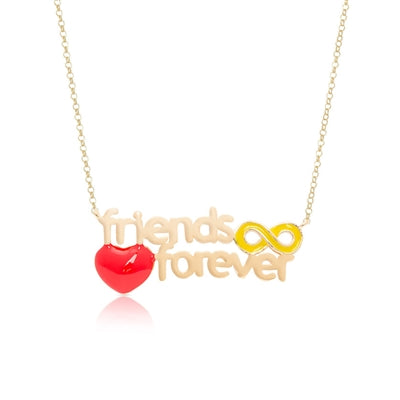 LN448N-2T, Friends Forever Necklace