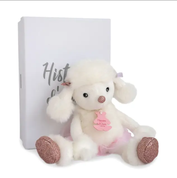 HO2842, Roxane Poodle Stuffed Animal 9.8""