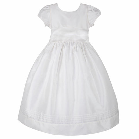 Timeless Girls Dress Mid-Calf Length with Short Sleeves