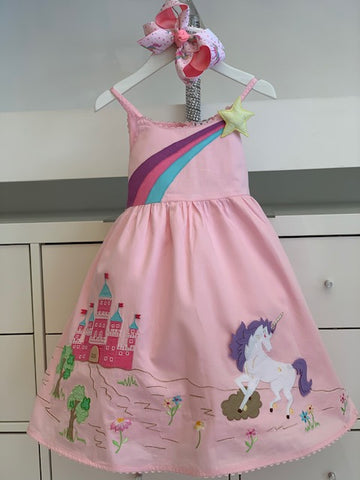 LITTLE UNICORN DRESS