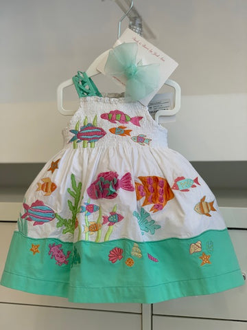 Cotton under the sea dress