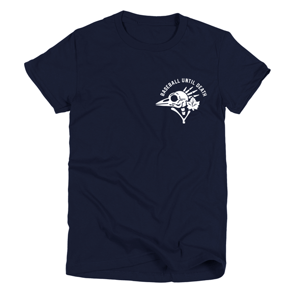 Baseball Until Death Women Navy