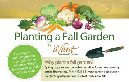 Easy Infographic: Plant a Fall Garden