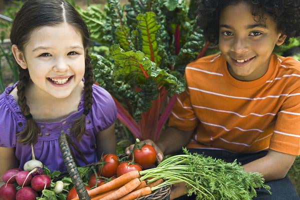 Getting Your Children Involved in Gardening