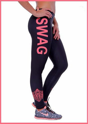 Women Sports Fitness Leggings - SWAG