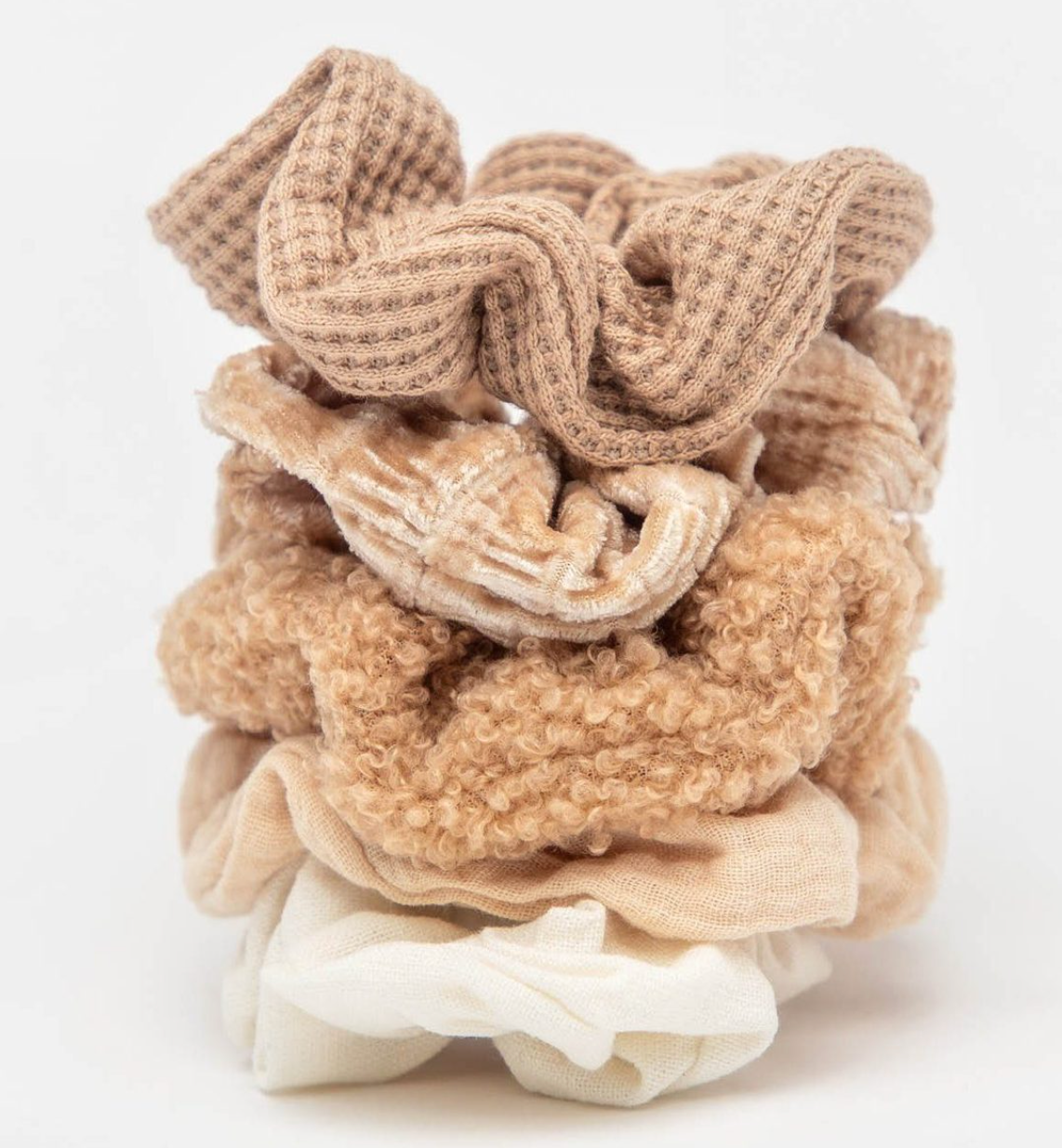 Assorted Scrunchie - Sand