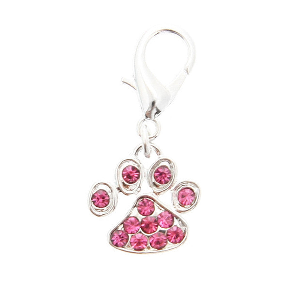 swarovski little paw dog collar charm dog accessories dog accessory designer dog accessories dog boutique fashion dog jewlery