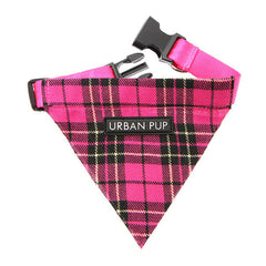 pink tartan bandana dog accessories dog accessory designer dog accessories dog boutique fashion