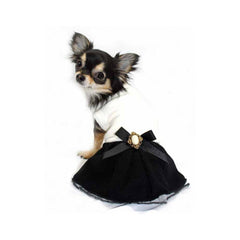 classic coco dress dog dress designer dog clothes boutique dog apparel