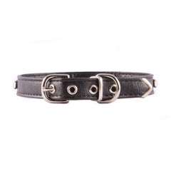 Black One Row Jeweled Collar
