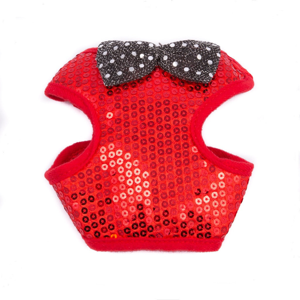 Red Sequin Harness