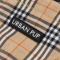 brown checkered tartan bandana dog accessories dog accessory designer dog accessories dog boutique fashion