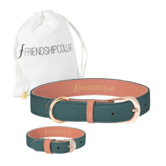 The Classic Pup : Racing Green Friendship Collar - USE FC15 FOR 15% OFF