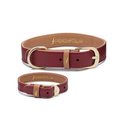 The Classic Puppy : Bordeaux Friendship Collar - USE FC15 FOR 15% OFF