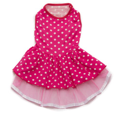 Pink Polka Dot Tutu Dress