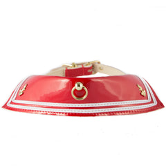 Red Sailor Collar