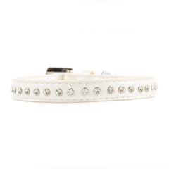 VP Pets Diamond Choker Collar- Single Diamond Row