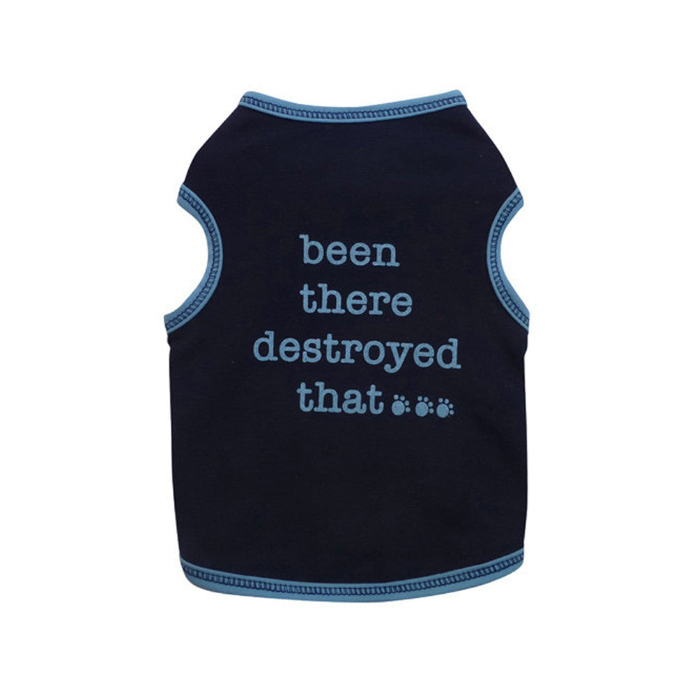 been there destroyed that dog top dog tee dog shirt designer clothes