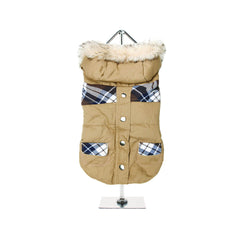 Breman Tartan Parka Dog Coats Dog Jackets Dog Tops designer dog apparel dog outerwear