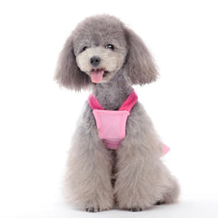 pink bow cruise dress dog dress designer dog clothes boutique dog apparel
