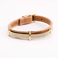 gina beige collar dog collar fancy dog collar dog shirt collar designer dog collar boutique dog collar
