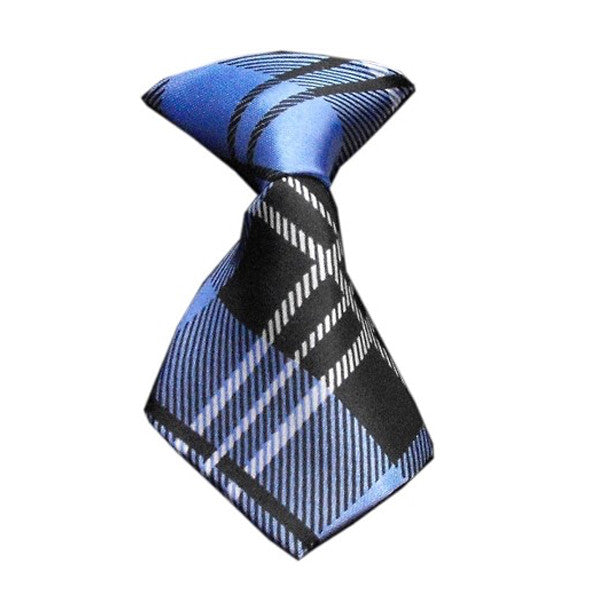 plaid blue neck tie dog accessories dog accessory designer dog accessories dog boutique fashion