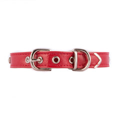 Red One Row Jeweled Collar