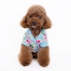 Tropical Island Shirt Blue