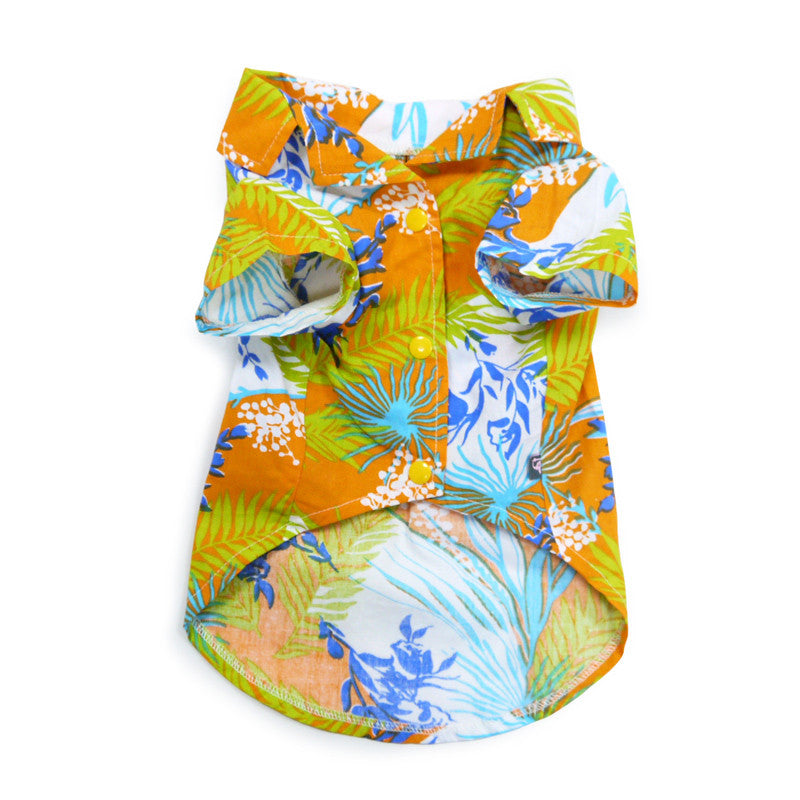 Tropical Island Shirt Orange