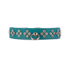 Turquoise Jewel Shaped Crystal Collar