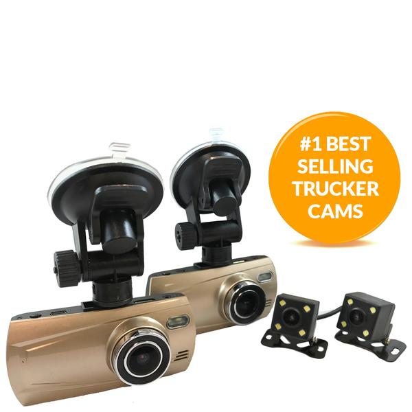 TD 1080P QUAD CAM DASH CAM SYSTEM! Record from 4 Viewpoints! Now with Optional GPS & Extented Memory!