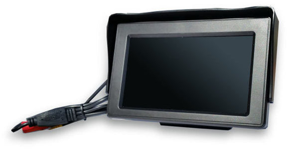 WIRED LICENSE PLATE BACKUP CAMERA SYSTEM